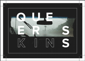 queerskins front postcard