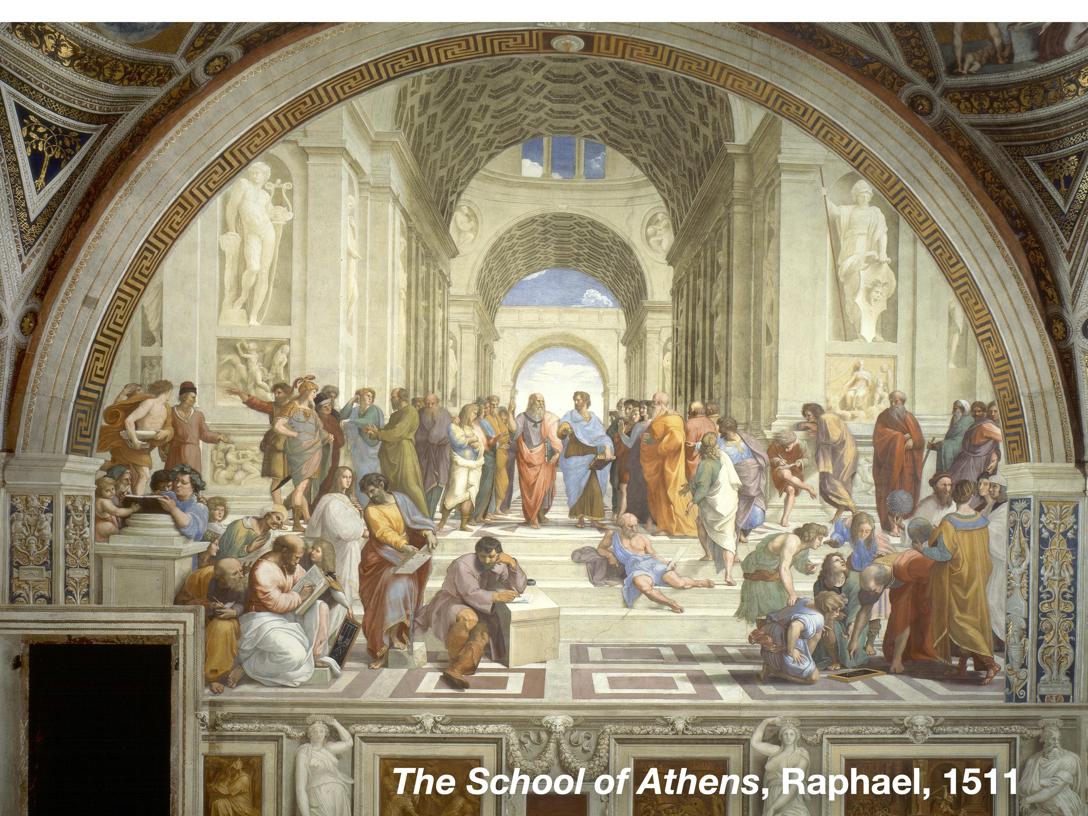 Raphael linear perspective